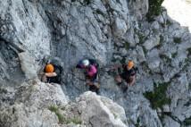 Ferratový výlet do Julských Alp