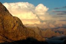 Náročná ferrata Jubilaumsgrat z Alpspitze na Zugspitze