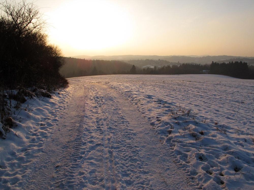 Běžecké tratě Ladovská zima