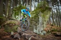 25km bike trasa předhůřím Jestřebích hor