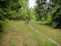 Bikování v Divoké Šárce