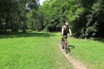 Horské kolo v Prokopském a Dalejském údolí