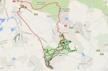20km výběh z Hájů do Průhonického lesoparku