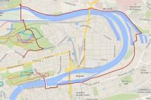 11km běh podél řeky – Vltavský oblouk