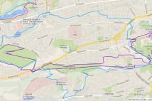 17km MTB trasa -  Smíchov zapadlý i rozpadlý