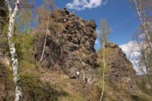 Lezení na Černolických skalách