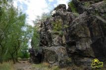 Lezení na Holém vrchu a Kozích hřbetech