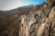 Pikovická jehla – romantické lezení v Posázaví