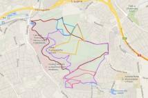6,9km běžecká trasa – Klasický okruh v Kunratickém lese