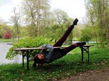 Lavička: lezecká hra do špatného počasí