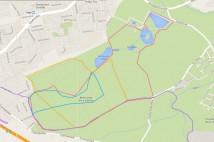 6km běžecká trasa – Okolo Vraha a Homolky