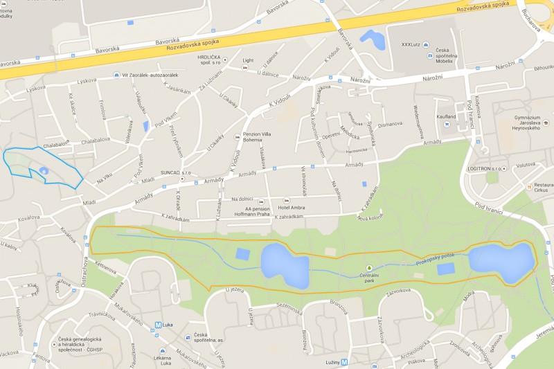 0,7km a 3,5km běžecké okruhy – Potrénujte rychlost v Centralparku