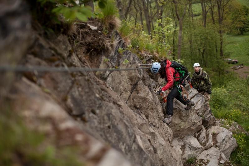 Via ferraty Lužických hor