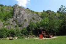 Lezení v Prokopském údolí