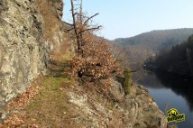 Slunná strana Štěchovické přehrady