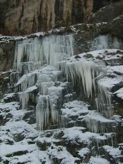 Zimní lezení v Srbsku (lom Alkazar)