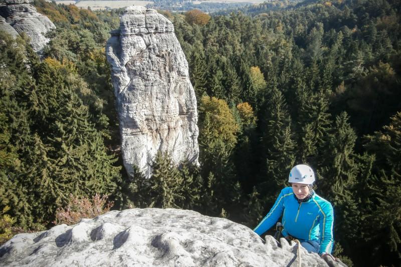 Kapelník - dominantní věž části Hruboskalska
