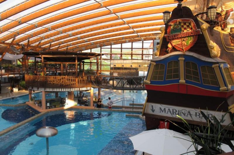 Aquapark Tatralandia v zimě