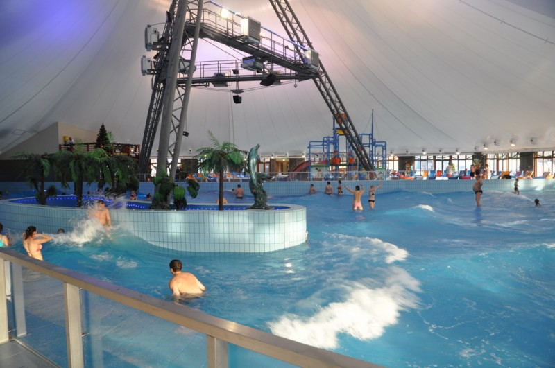 Aquapark Gino Paradise Bešeňová v zimě