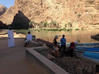 Půjdem spolu do Betléma (Wadi Shab, Omán)