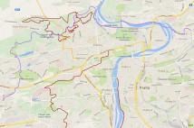 22km běžecká trasa: Prahou přes čtyři běžecké bašty z Libně do Řep