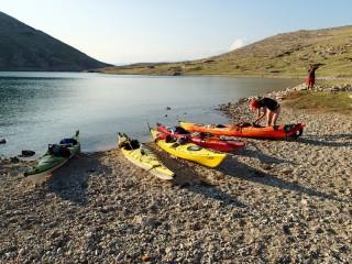Circumnavigation otok Krk na seakajaku