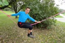 Eskymování na sucho aneb kayak rope gymnastics
