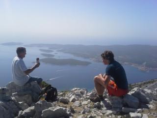 Výstup na Sv. Ilju 961m na Pelješacu