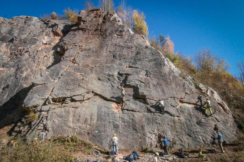 Nová lezecká oblast Solvayovy lomy: Vyzkoušeno!