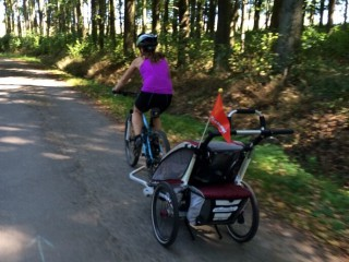 Na kole k pramenům Vltavy