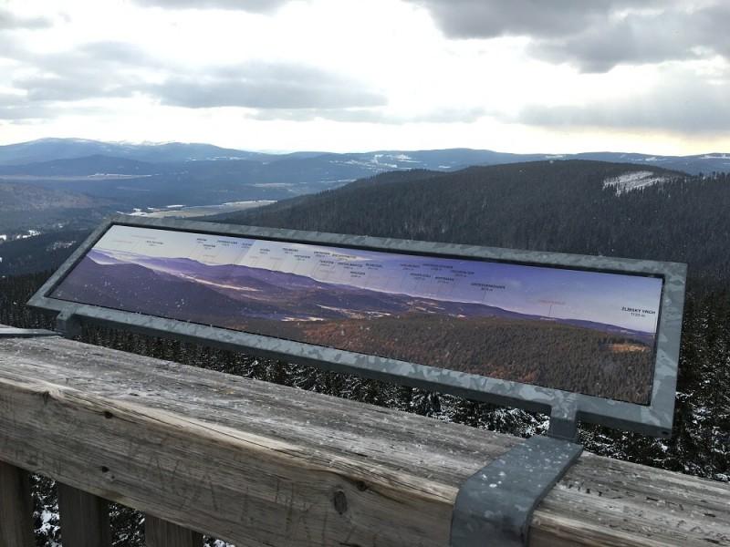 Boubínský prales v zimě