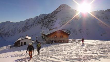 Skialpy na Pforzheimer Hütte