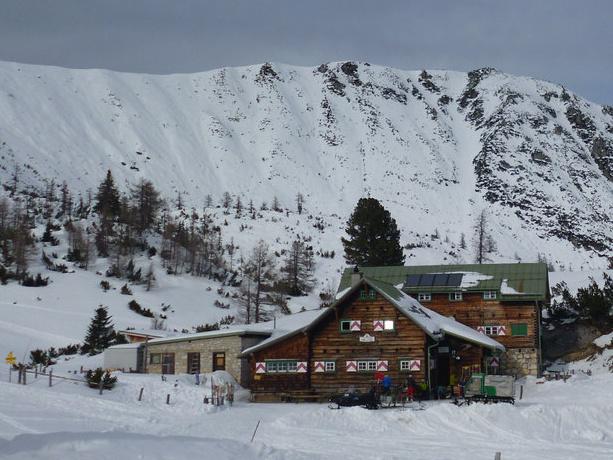 Skialpy na Sudwiener Hütte