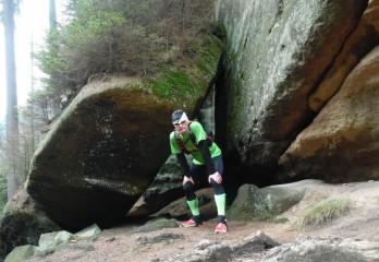 Běh Broumovkými stěnami 24km