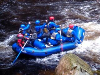 Rafting v Česku na Jizeře v Jablonci n/J
