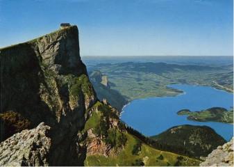 Výstup na horu Schafberg, 1783m-Rakouské Alpy