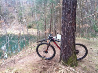 Brdský hřeben na kole