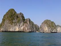 Lezení na ostrově Catba v severním Vietnamu