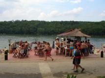 Plavání v Hostivařské přehradě