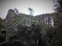 11km běžecká trasa Adršpašsko-teplickými skalami