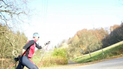 28km projetí na kole / kolečkových lyžích okolo Trutnova