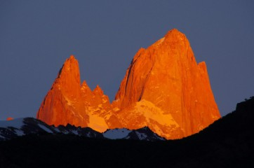 Hory a ledovce Los Glaciares