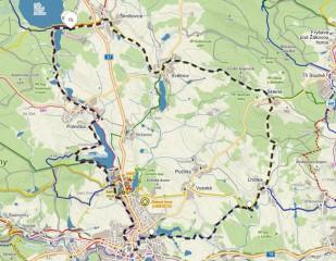 Cyklookruh z Velkého Dářka do Žďáru