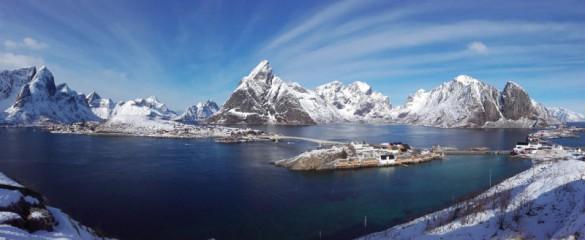 Zimní Lofoty