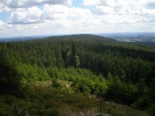 Na Hradiště a vyhlídky hřebene Prahy