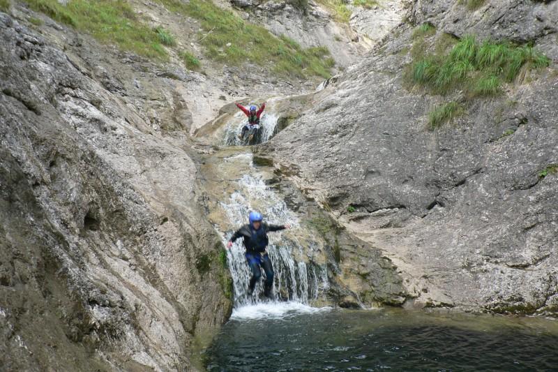 Canyoning Rotbach
