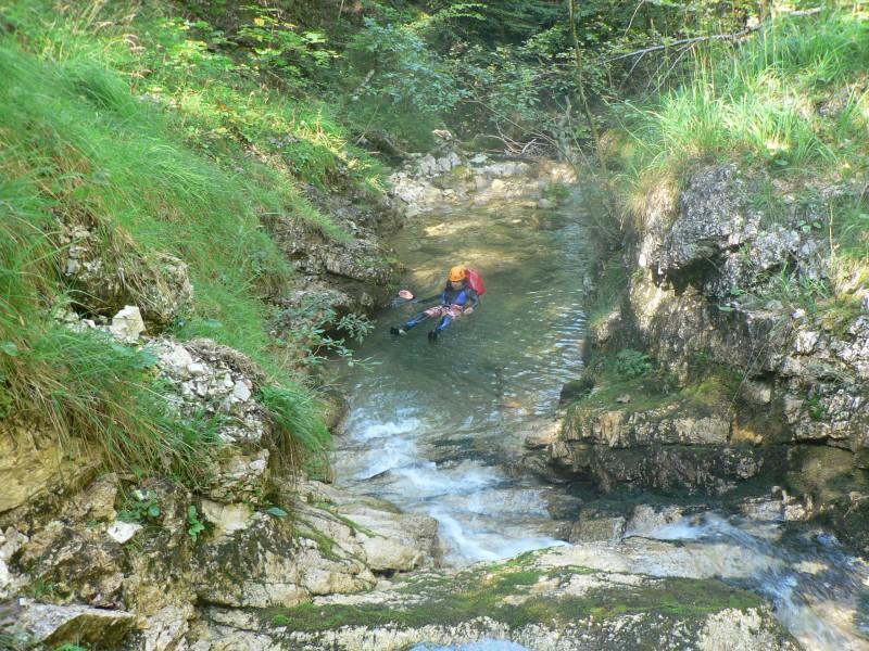Canyoning Winkelbachgraben