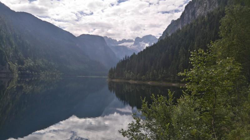 Ve stínu Dachsteinu