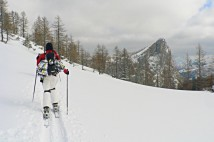 Dümler Hütte: Skialpová oblast 4 hodiny od Prahy