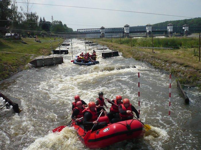 Divoká voda: Kanál Veltrusy